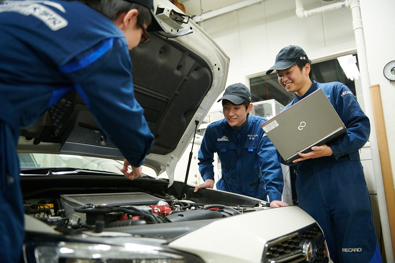 専門学校東京工科自動車大学校[世田谷校](Tokyo Professional College of Automobile Technology (Setagaya school))