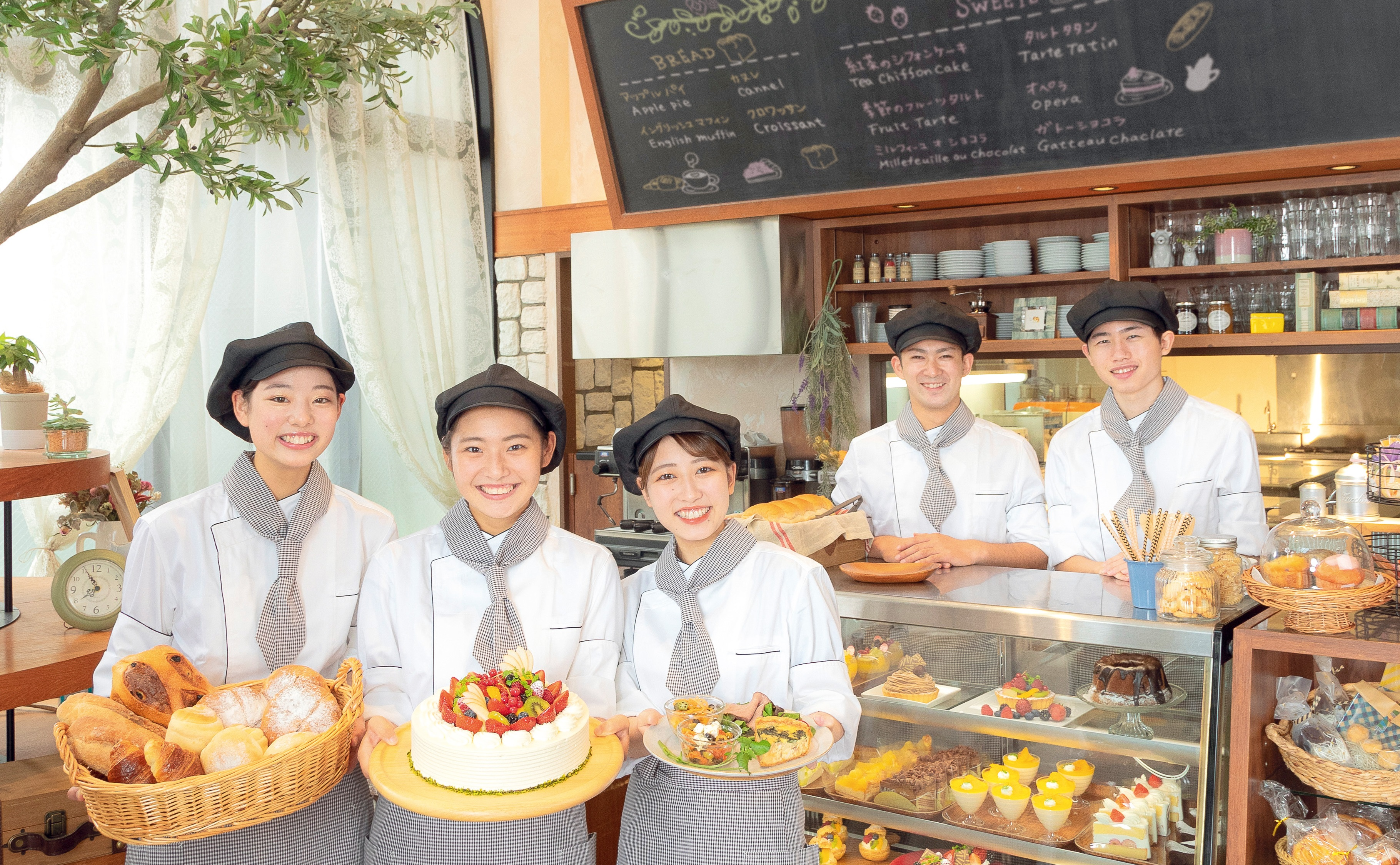 東京スイーツ&カフェ専門学校(Tokyo Sweets and Café Career College) Interview